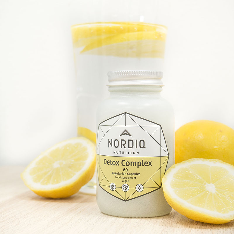 Detox Complex - Maksan hyvinvointi - NORDIQ Nutrition