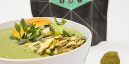 Minttuinen ja virkistävä Post-Workout smoothie bowl