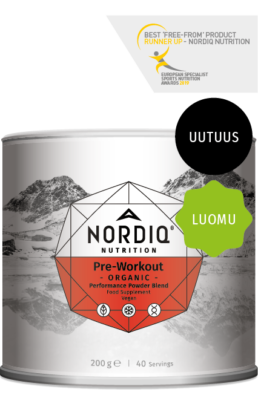 Organic Pre-Workout Powder