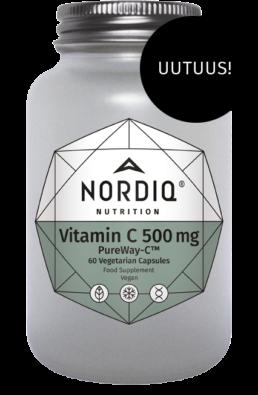C-vitamiini ainutlaatuisessa PureWay-C -muodossa
